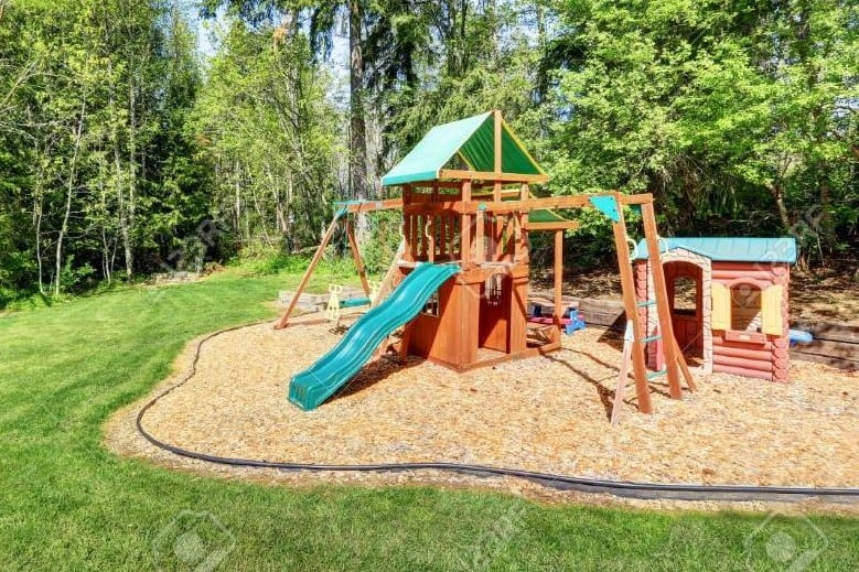 3 Of The Safest Diy Playground Surfaces, How To Build A Playground Border